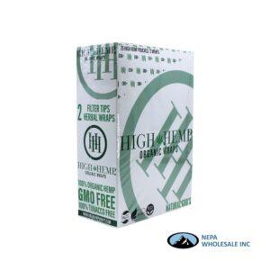 High Hemp 25CT Regular Organic Wraps