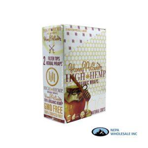 High Hemp 25CT Honey Organic Wraps