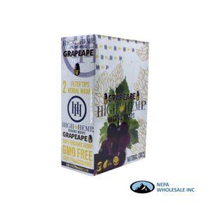 High Hemp 25CT Grapeape Organic Wraps