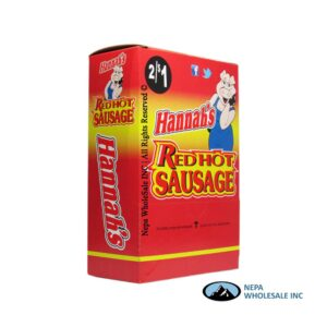 Hannah's 2 for $0.99 Red Hot Sausage