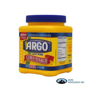 Argo Corn Starch 16 Oz Plastic Jar