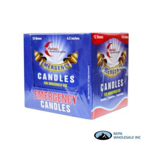 Candles Emergency Household 12 Box