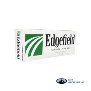 Edgefield 100 Box Menthol