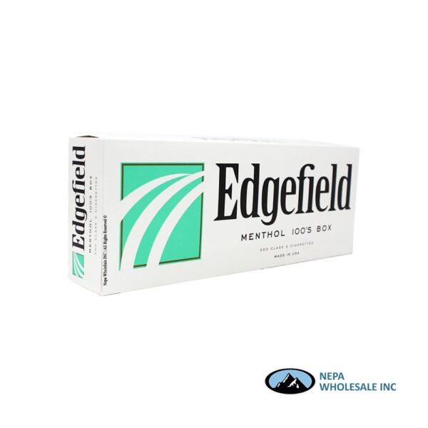Edgefield 100 Box Menthol Gold