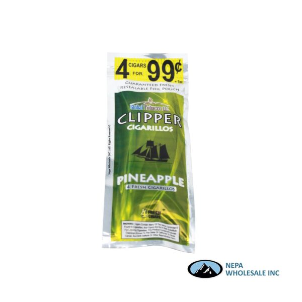 Clipper 4 for $0.99 Pineapple