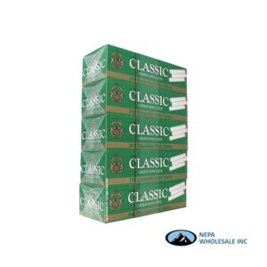 Classic KS Green Cigarette Filter Tubes 200 CT - 5 PK