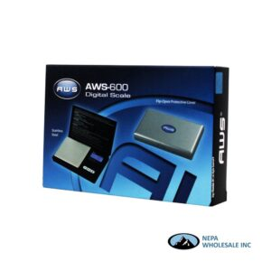 Scale AWS-600 Digital Scale Silver