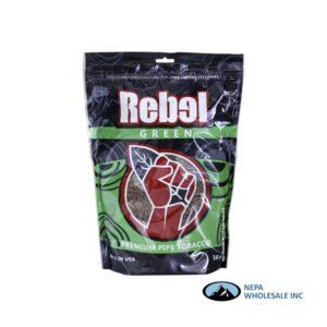 Rebel Pipe Tobacco 16oz Green