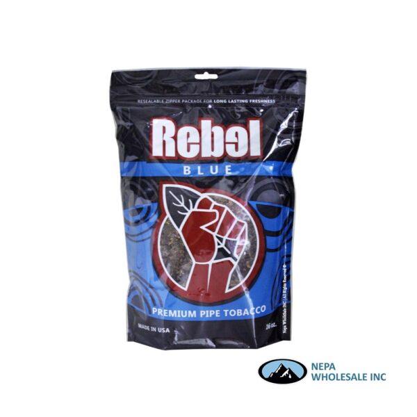 Rebel Pipe Tobacco 16oz Blue