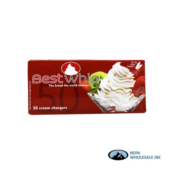 Best Whip 50-8g Cream Chargers