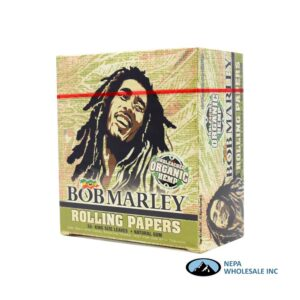 Bob Marley Organic Hemp King Size 50 PC Cigarette Paper
