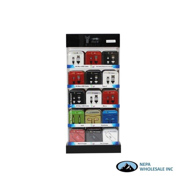 Y-Max Counter Display 6ft Led 105ct