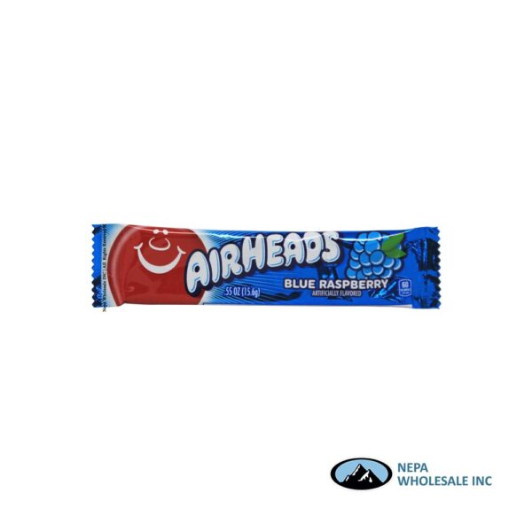 Airheads Xtremes 18-2Oz Belt Bluest Raspberry