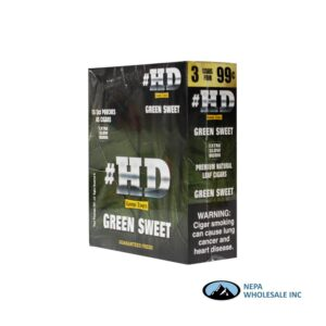GT HD 3 for $0.99 15pk Green Sweet