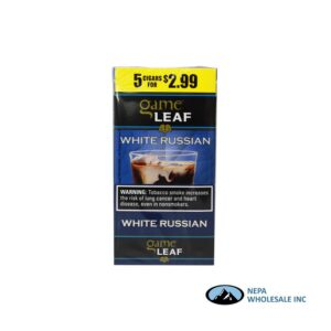 Game Leaf 5 for $2.99 White Russian
