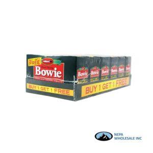 Bowie B1G1 Free 6-2PK