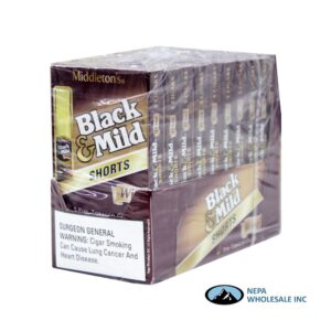 Black & Mild 10-5PK Short Wine