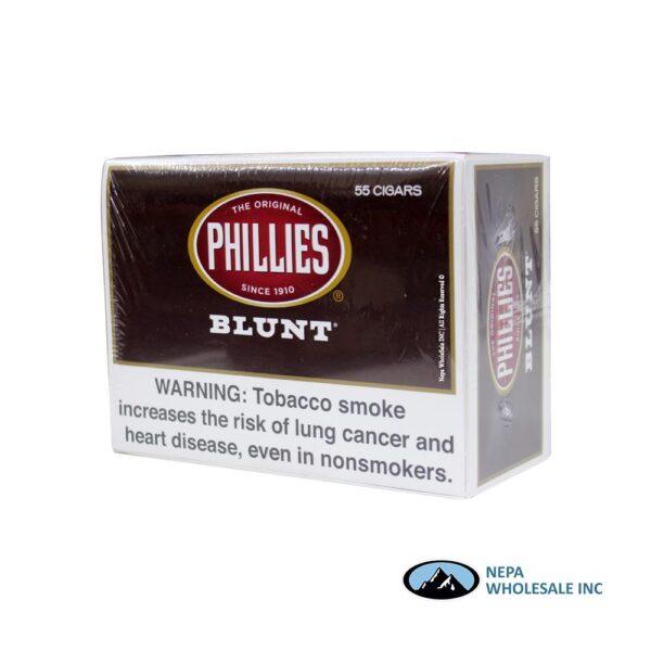 Phillies Blunt 55CT Box Brown