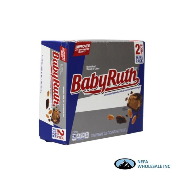 Baby Ruth 18-3.3oz 2 Piece Share Size