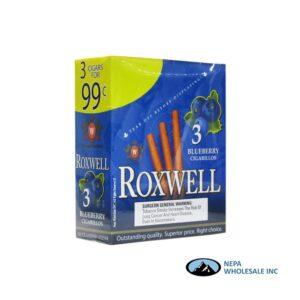 Roxwell 3 for $0.99 15 Pk Blueberry