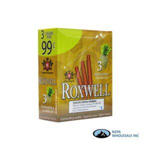 Roxwell 3 for $0.99 15 Pk Pineapple