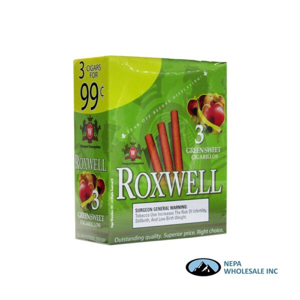 Roxwell 3 for $0.99 15 Pk Green Sweet