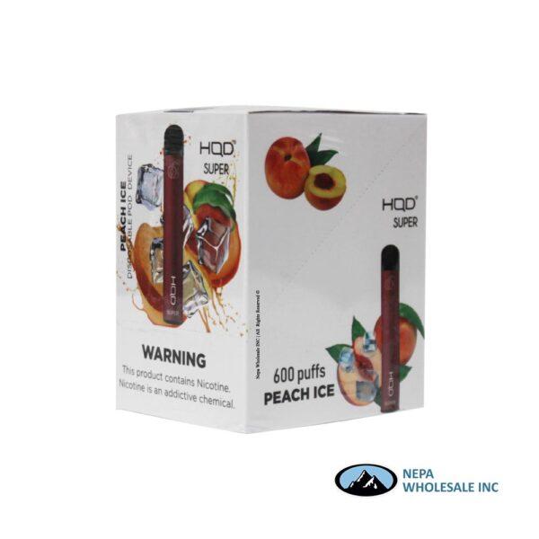HQD Super Disposable 5% Peach Ice 15PK