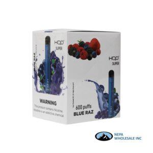 HQD Super Disposable 5% Blue Raz 15PK