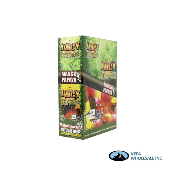 Juicy Hemp Wraps25-2PK Mango Papaya Twist