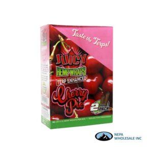 Juicy Hemp Wraps25-2PK Cherry Pie