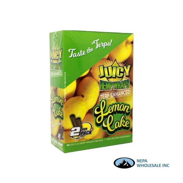 Juicy Hemp Wraps25-2PK Lemon Cake