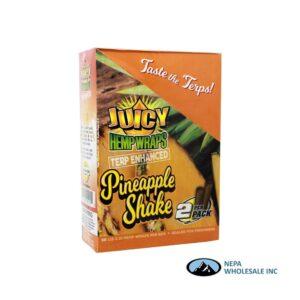 Juicy Hemp Wraps25-2PK Pineapple Shake