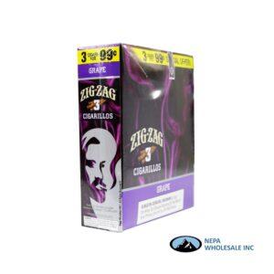 Zig Zag 3 for $0.99 Grape