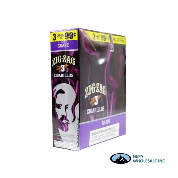 Zig Zag 3 for $0.99 Grape