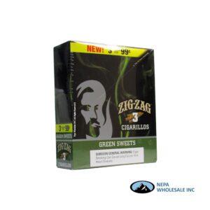 Zig Zag 3 for $0.99 Green Sweet
