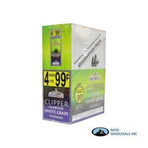 Clipper 4 for $0.99 White Grape