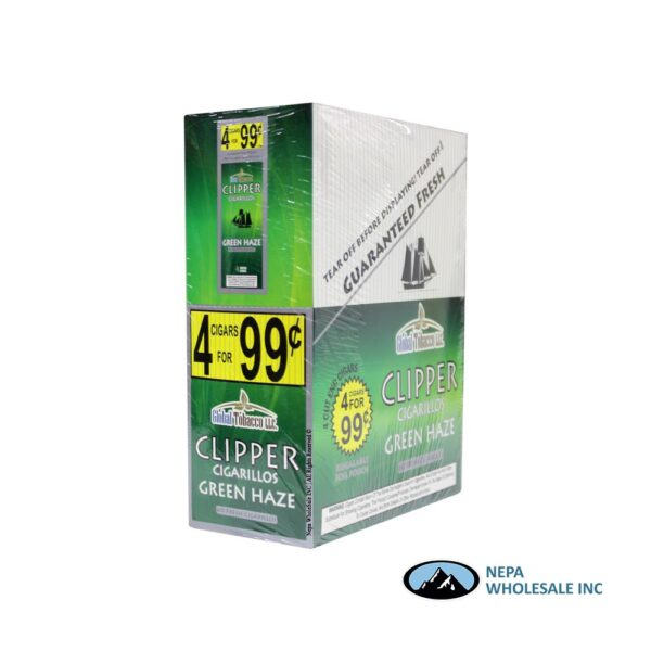 Clipper 4 for $0.99 Green Haze