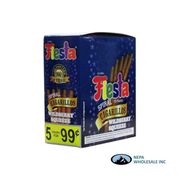 Fiesta 5/.99c 15ct Wildberry Squeeze