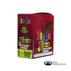 Fiesta 5/.99c 15ct Very Berry Cherry