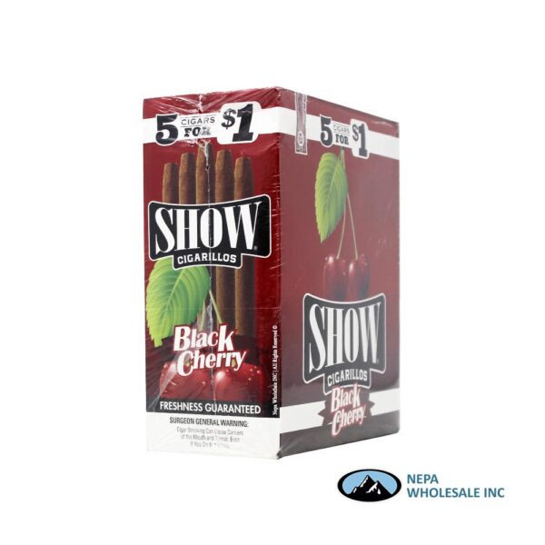 Show 5 for $0.99 15 CT Black Cherry