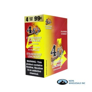 GT 4 Kings Strawberry Lemonade 4 for $0.99 15 PK