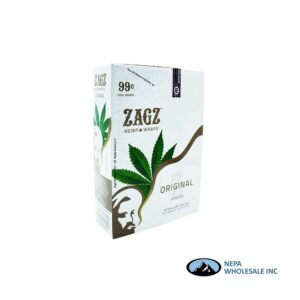 Zagz 2 for $0.99 Original Hemp Wraps