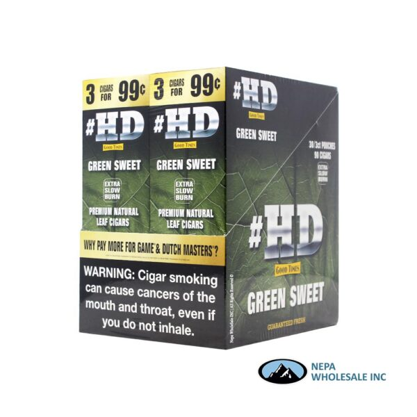 GT HD Green Sweet Double Pack 3 for $0.99 30PK