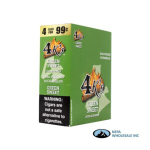 GT 4 Kings Green Sweet 4 for $0.99 15 PK