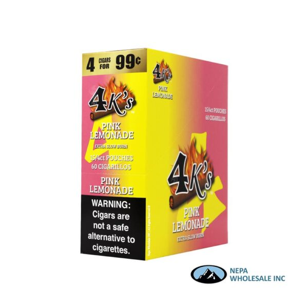 GT 4 Kings Pink Lemonade 4 for $0.99 15 PK
