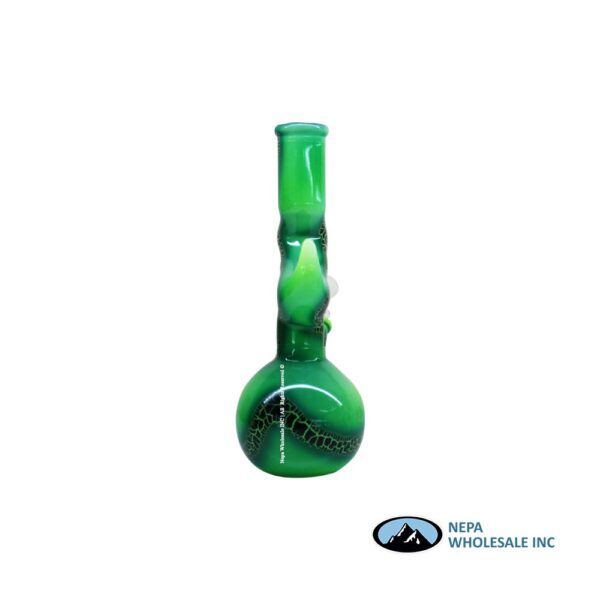 Pipe Water 8 inch Double Bend w/ Perk