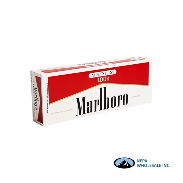 Marlboro 100's Red Label Box