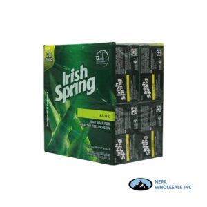 Irish Spring Soap Aloe 20-3.75oz Bars