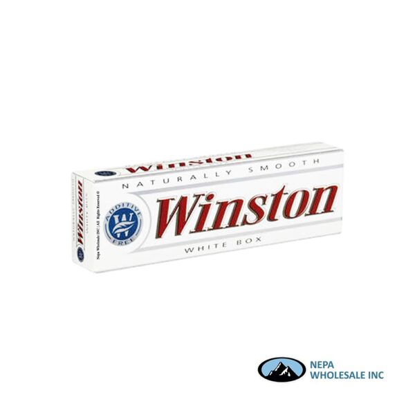 Winston King White Box