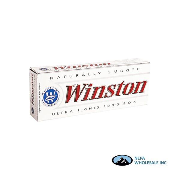 Winston 100s White Box